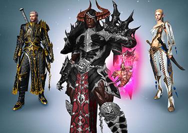 3x Exclusive Costumes